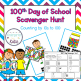 100th Day of School Scavenger Hunt
