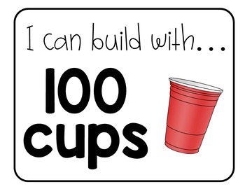 Cup Stacking STEM Activity