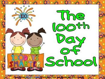100th Day of School Shared Reading for Kindergarten