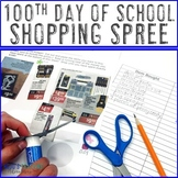 100th Day Math Activities | Addition Practice for 1st, 2nd, 3rd, or 4th Grade