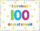 100th Day of School Sign