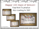 100th Day of School - Skip Counting - Flap Book