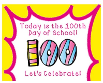 100th Day of School Smart Board Activities Pack