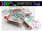 100th Day of School Smarties Gift Tag