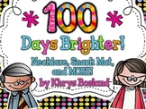 100th Day of School {Snack Mat} {Bag Toppers} {Necklace} {