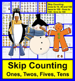 100th Day of School Math Activities:  Skip Counting