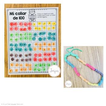 100th Day of School Spanish - 100 dias de escuela
