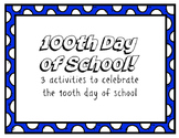 100th Day of School! Spanish Activity Pack