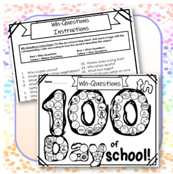 100th Day of School Speech Therapy Bundle!