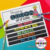 100th Day of School Step Book