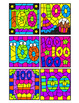 100th Day of School Subtraction Within 10 Color By Number