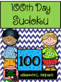 100th Day of School Sudoku Puzzle Bundle
