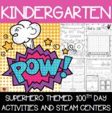 100th Day of School Superhero Themed {Kindergarten}