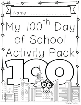 100th Day of School Superhero Themed {Fifth Grade}