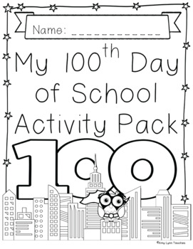 100th Day of School Superhero Themed {First Grade}