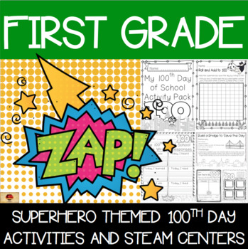 100th Day of School Superhero Themed {First Grade}