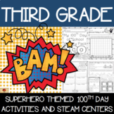 100th Day of School Superhero Themed {Third Grade}