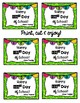 100th Day of School Tags
