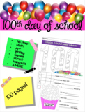 100th Day of School Ultimate Packet