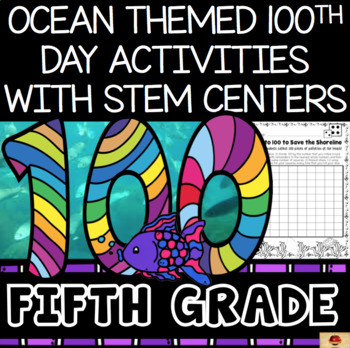 100th Day of School Under the Sea Themed {Fifth Grade}