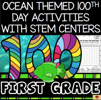 100th Day of School Under the Sea Themed {First Grade}