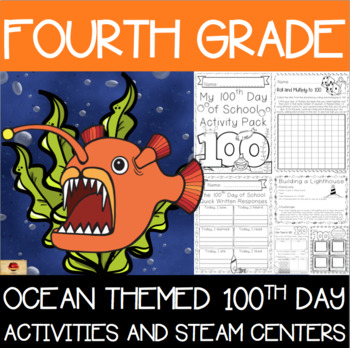100th Day of School Under the Sea Themed {Fourth Grade}