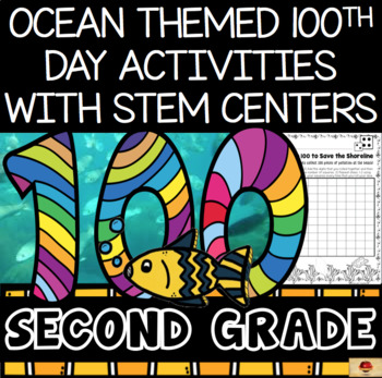 100th Day of School Under the Sea Themed {Second Grade}