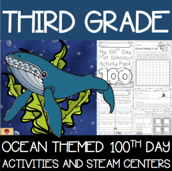 100th Day of School Under the Sea Themed {Third Grade}