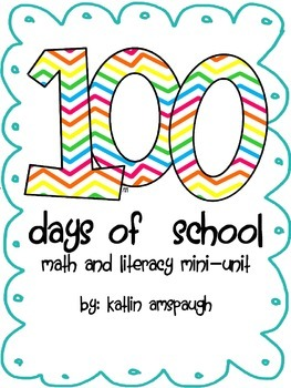 100th Day of School Unit