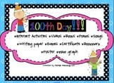 100th Day of School Unit with Interactive Activities, Videos, Games & More