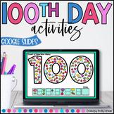 100th Day of School Virtual Google Slides