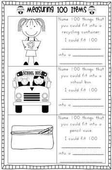 Collections of 100th Day Of School Worksheets For Kindergarten ...