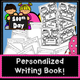 100th Day of School Writing Book
