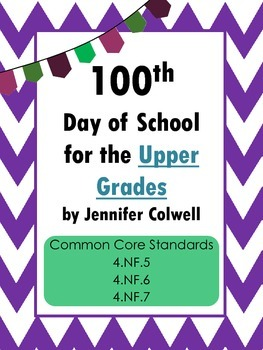 100th Day of School for the Upper Grades