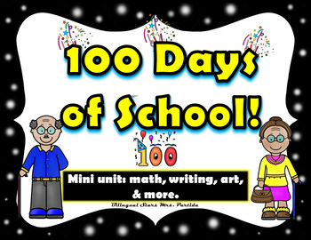 100th Day of School in English  Craftivity