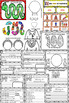 100th Day of School in Spanish  Craftivity   100 Dias de escuela