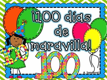 100th Day of School in Spanish
