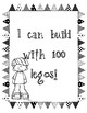 100th Day  of School station Labels