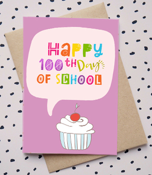 100 Days of School Cards for Students BUNDLE