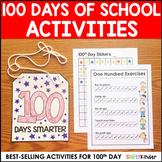 100th Day of School Activities - Kindergarten & First Grade