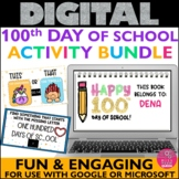 100th Day of school Virtual BUNDLE