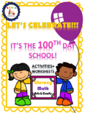 100th Days of School Activities and Printables (100 days of school)