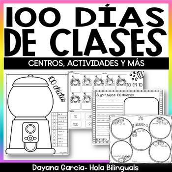 100th Day of School - SPANISH 100 días de escuela