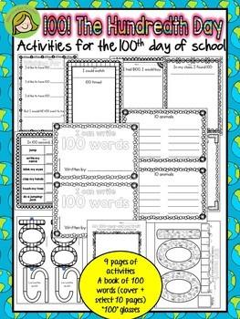 100th day! Hundredth Day of School!