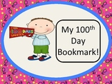100th day bookmarks!