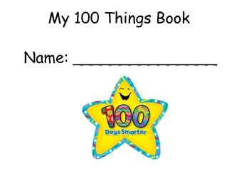 100th day books