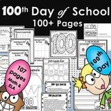 100th day of School  ELA l MATH l STEM l STEAM 100+ pages
