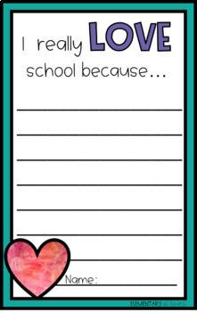 100th day of School Bulletin Board - 100 Reasons Why We Love School