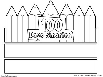 100th Day Activity | 100th Day Craft | 100th Day of School Activity