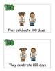 100 Days of School, Emergent Reader, Cut, Paste, 100th Day